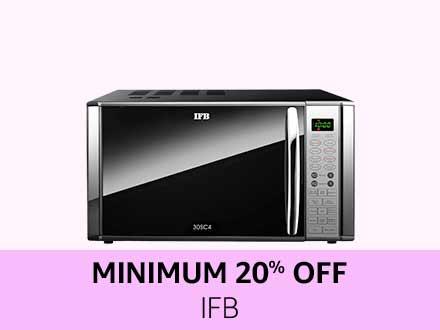 IFB | Minimum 20% off