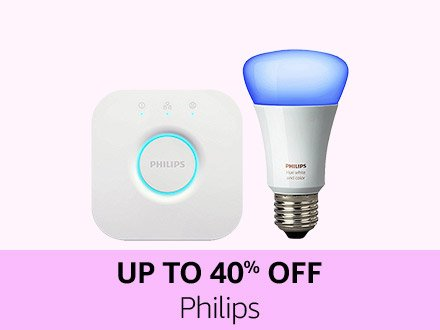 Philips | Up to 40% off