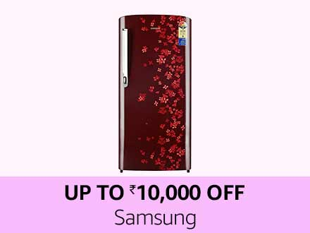 Samsung | Up to Rs 10,000 off