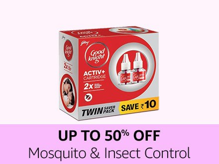 Up to 50% off mosquito & insect control