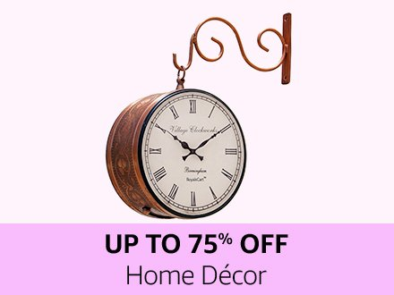 Home decor | Up to 75% off