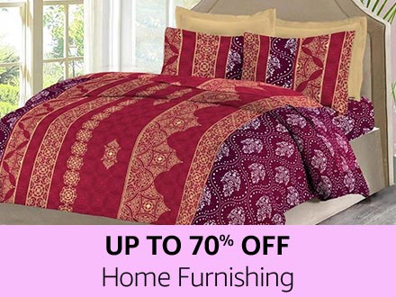 Home Furnishing | Up to 70% off