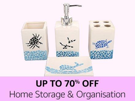 Home storage & organisation | Up to 70% off