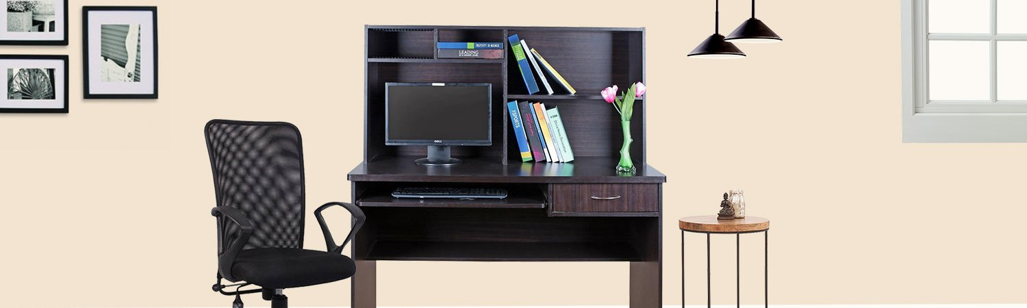 Study amp Home Office Furniture Buy Study amp Home Office  : DeskV511428107 from www.amazon.in size 1500 x 450 jpeg 68kB