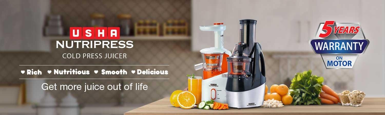 Amazon.in: Usha Nutripress Cold Press Juicers: Home & Kitchen