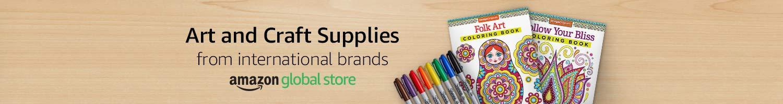 Art and Craft Supplies from international brands