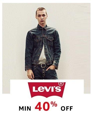 Levi's Min 40% off