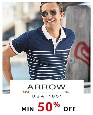 Arrow Min 50% off
