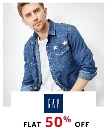 Gap FLat 50% off