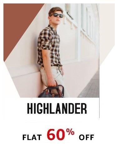Highlander Flat 60% off