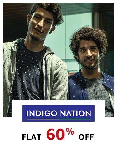 Indigo Nation flat 60% off