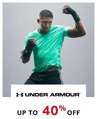 Under Armour upto 40