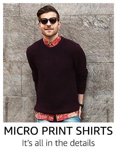 Micro Print Shirts