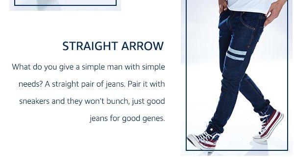 Straight Arrow Fit