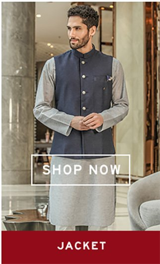 cad8aa4042 Manyavar Store: Buy Manyavar Jackets, Pyjamas, Kurtas Online at Best ...