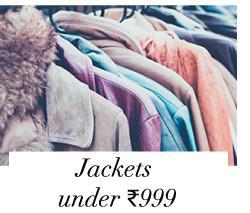 Jackets under 999
