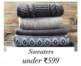 Sweaters Under 599