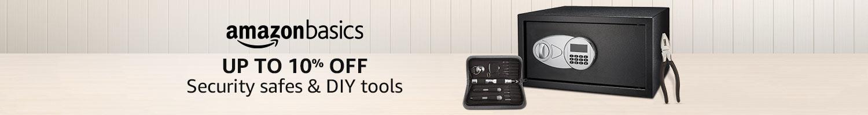 AmazonBasics security aafes & DIY tools
