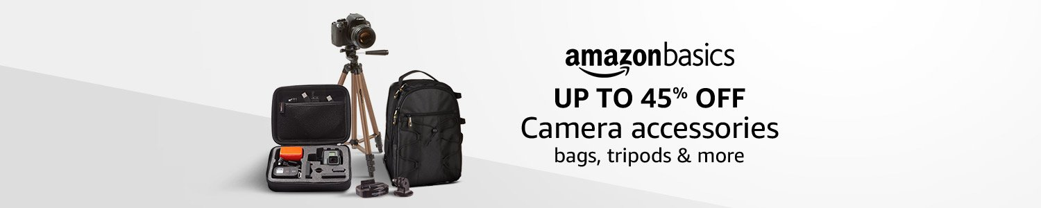 Up to 45% off: AmazonBasics