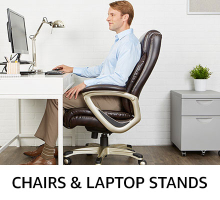 Chairs & laptop stands