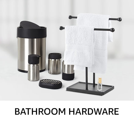 Bathroom hardware