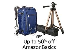 Up to 50% off on AmazonBasics