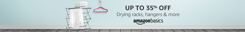 AmazonBasics: Up to 35% off on home storage & organization
