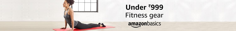 Under 999 | Fitness gear from AmazonBasics