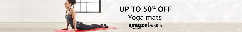 Up to 50% off: Yoga mats from AmazonBasics