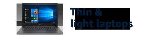 Thin & light laptops