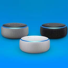 Echo dot smart speaker at ₹3,999