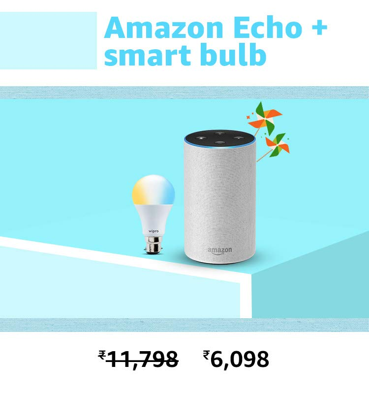 Echo and bulb