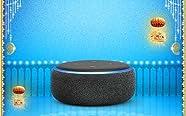 Echo smart speakers with Alexa