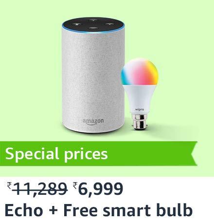 echo + bulb