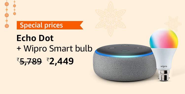 Echo Dot and bulb