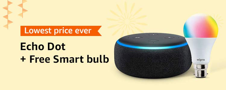 echo dot and bulb lowest prices