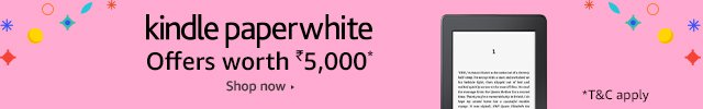kindle paperwhite offer