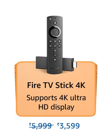 Amazon Prime Day 2021 Offers on Fire TV Stick 4k
