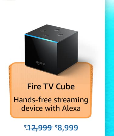 Amazon Prime Day 2021 Offers on Fire TV Cube