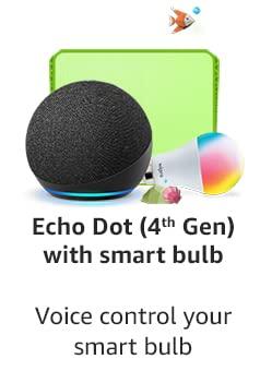 Echo Dot With Smart Bulb