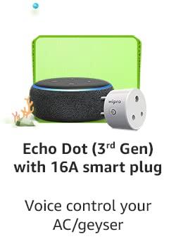 Echo Dot With 16A Smart Plug
