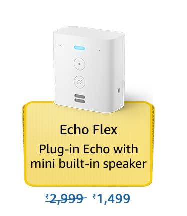 Amazon Prime Day 2021 Offer on Amazon Echo Flex