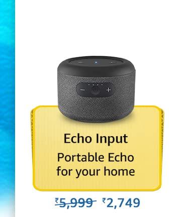 Amazon Prime Day 2021 Offer on Amazon Echo Input