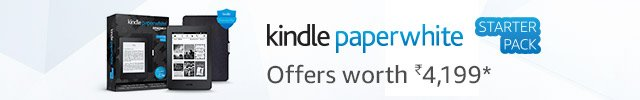 Kindle Starter Pack Paperwhite