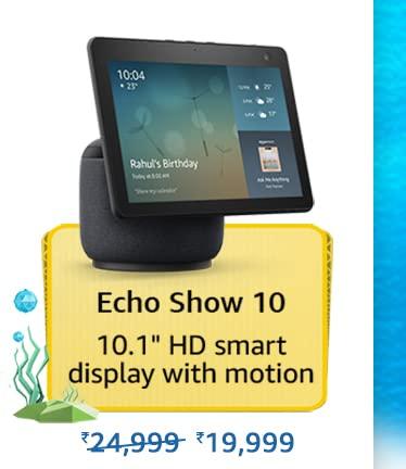 Amazon Prime Day 2021 Offer on Amazon Echo Show 10
