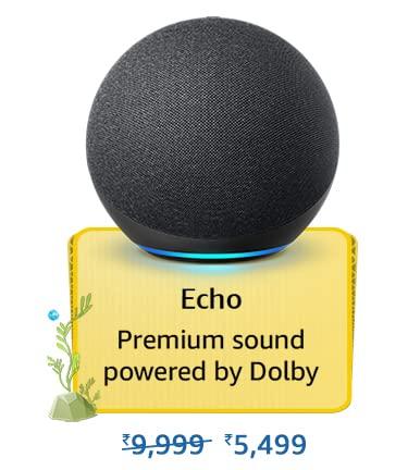 Amazon Prime Day 2021 Offer on Amazon Echo