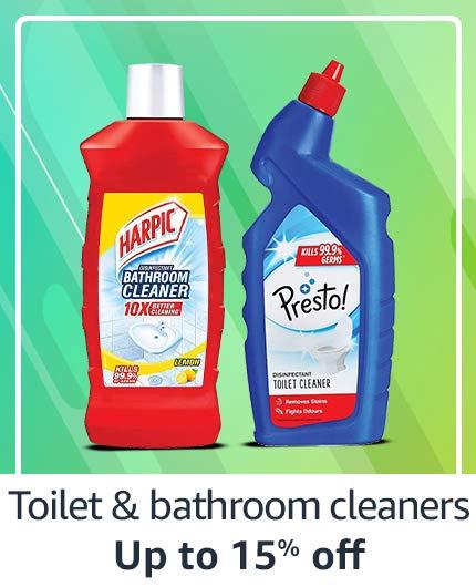 Toilet & Bathroom Cleaners