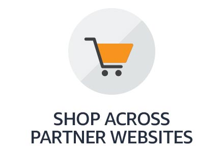 Shop across partner websites