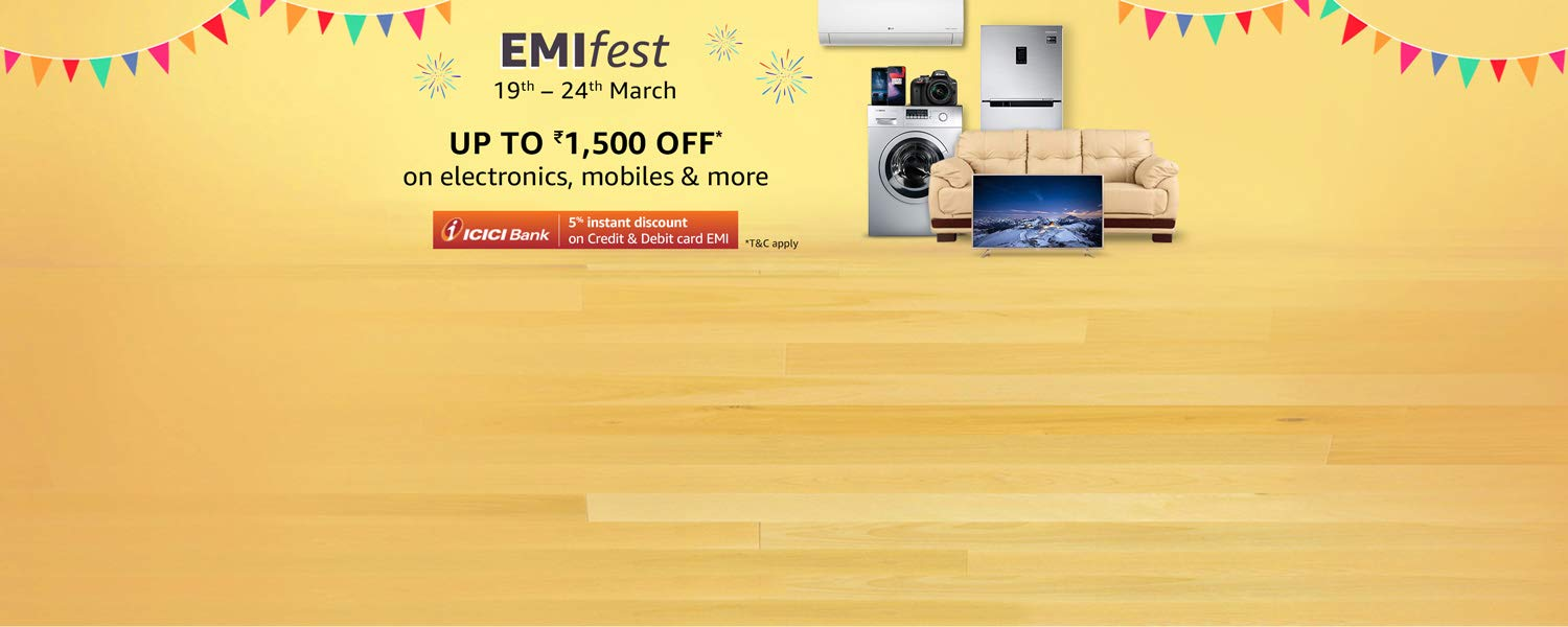 Amazon Pay HDFC EMI Fest