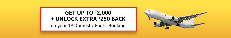 1st flight booking